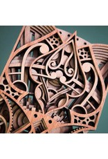 """Philip Roberts Spadile (Wood Relief Sculpture, 16x6"""")"""