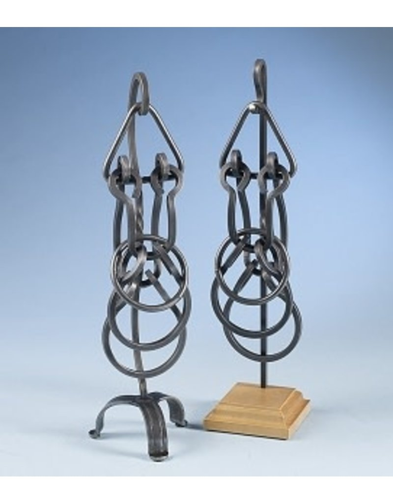 Dennis Sucilsky Display Stand (Forged Base, Tavern Puzzle)