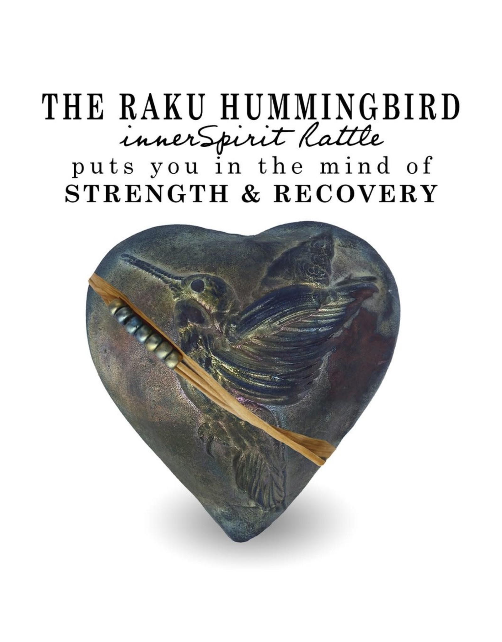 J Davis Studios HUMMINGBIRD WHISPERER (HEART, innerSpirit Rattle, JDAV)