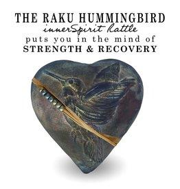 J Davis Studios HUMMINGBIRD WHISPERER (HEART, innerSpirit Rattle)