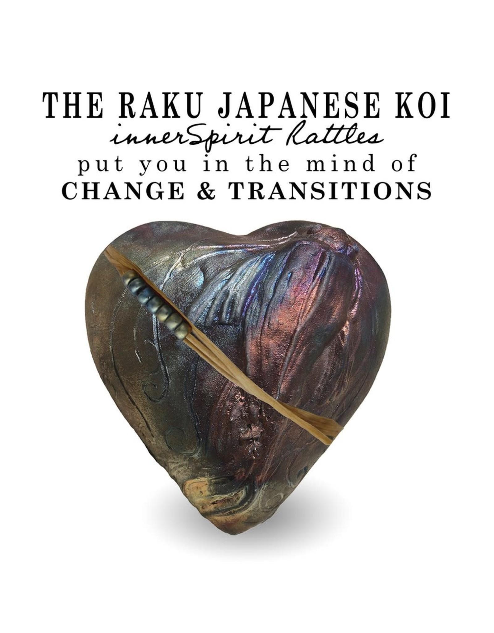 J Davis Studios JAPANESE KOI (HEART, innerSpirit Rattle, JDAV)