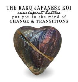 J Davis Studios JAPANESE KOI (HEART, innerSpirit Rattle)