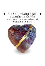 J Davis Studios STARRY NIGHT (HEART, innerSpirit Rattle, JDAV)