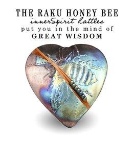 J Davis Studios BUMBLE BEE (HEART, innerSpirit Rattle, JDAV)