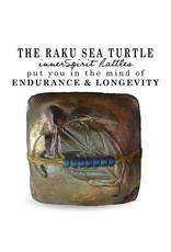 J Davis Studios SEA TURTLE (SQUARE, innerSpirit Rattle, JDAV)