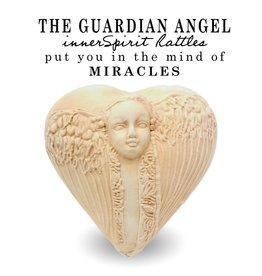 J Davis Studios GUARDIAN ANGEL (HEART, innerSpirit Rattle)