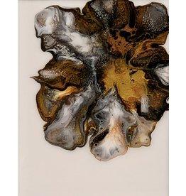 Sandra Stroot Erupting Metal (Fluid Acrylic, 12x8)