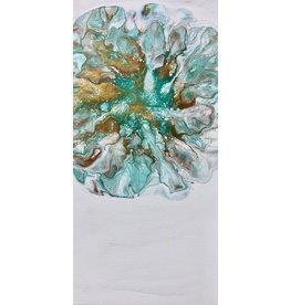Sandra Stroot Hint of Mint (Fluid Acrylic, 20x10)