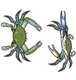 Jabebo Earrings CRAB (BLUE)