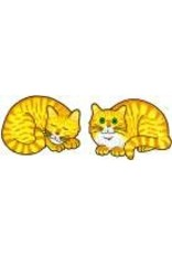 Jabebo Earrings CAT (NAPPING, YELLOW, JABEBO)
