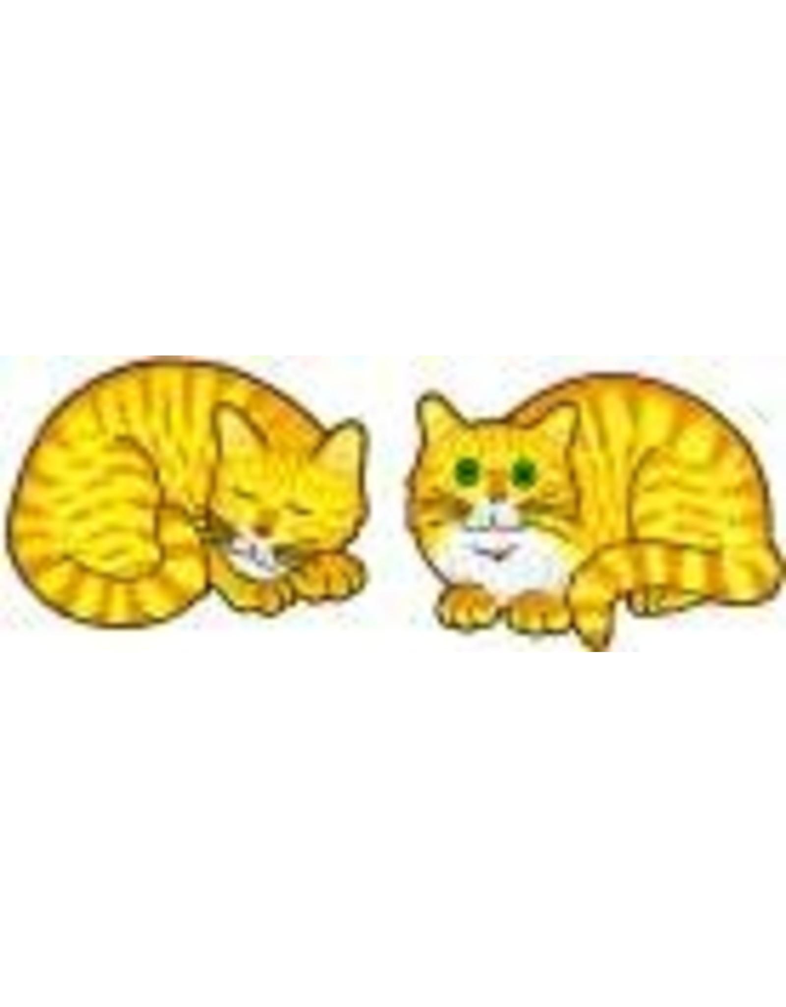 Jabebo Earrings CAT (NAPPING, YELLOW)