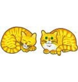 Jabebo Earrings CAT (NAPPING, YELLOW)
