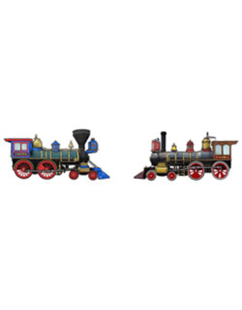 Jabebo Earrings STEAM ENGINES: JUPITER & #119