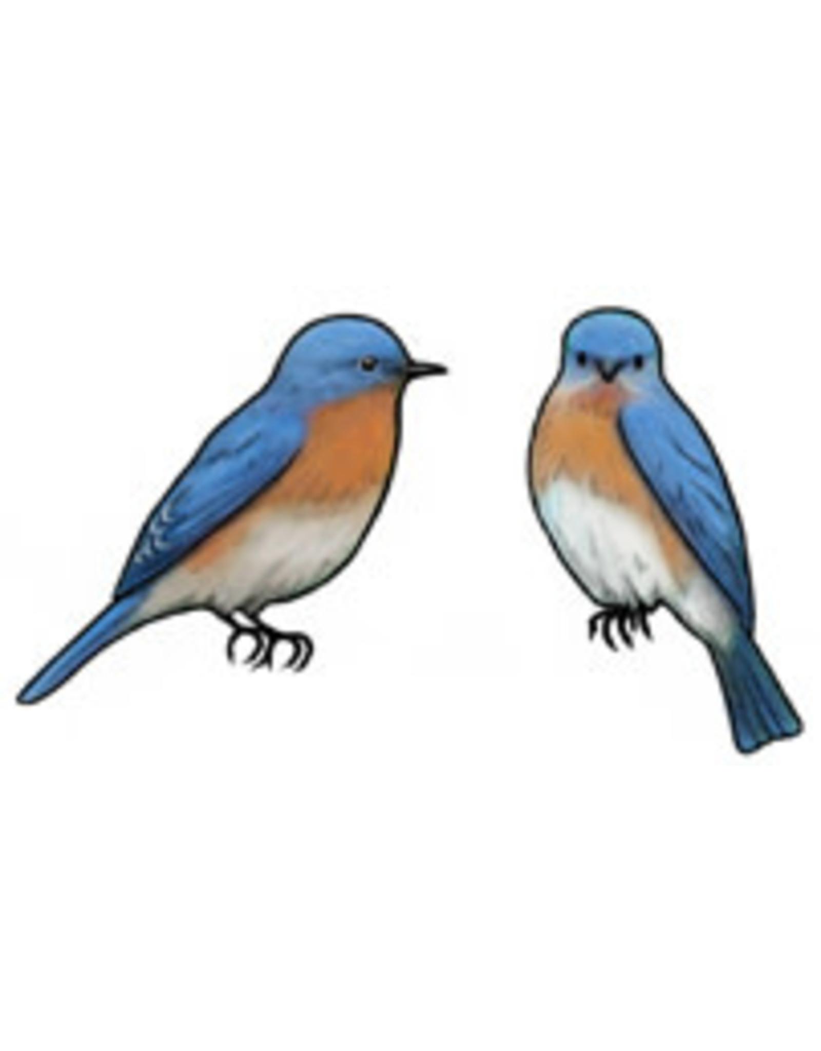 Jabebo Earrings BLUEBIRD (EASTERN, JABEBO)