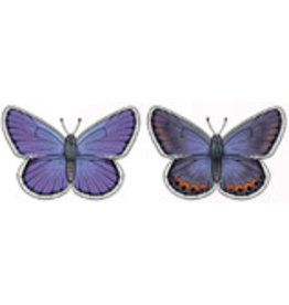 Jabebo Earrings BUTTERFLY (KARNER BLUE)