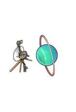 Jabebo Earrings VOYAGER & URANUS FLYBY