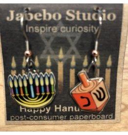 Jabebo Earrings HANUKKAH