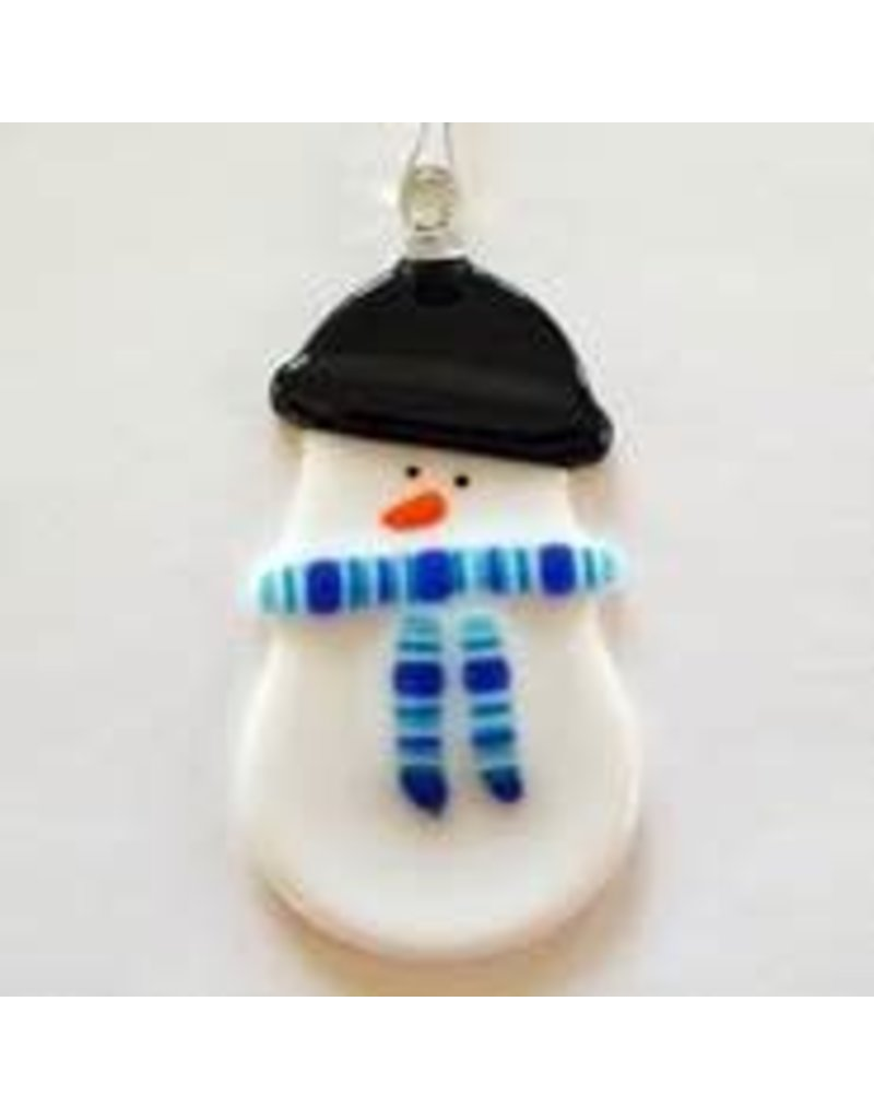 Glassworks Northwest SNOWGIRL ORNAMENT