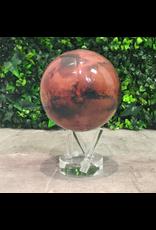 "Mova Globes MARS (w/Acrylic Base, 4.5""D.)"