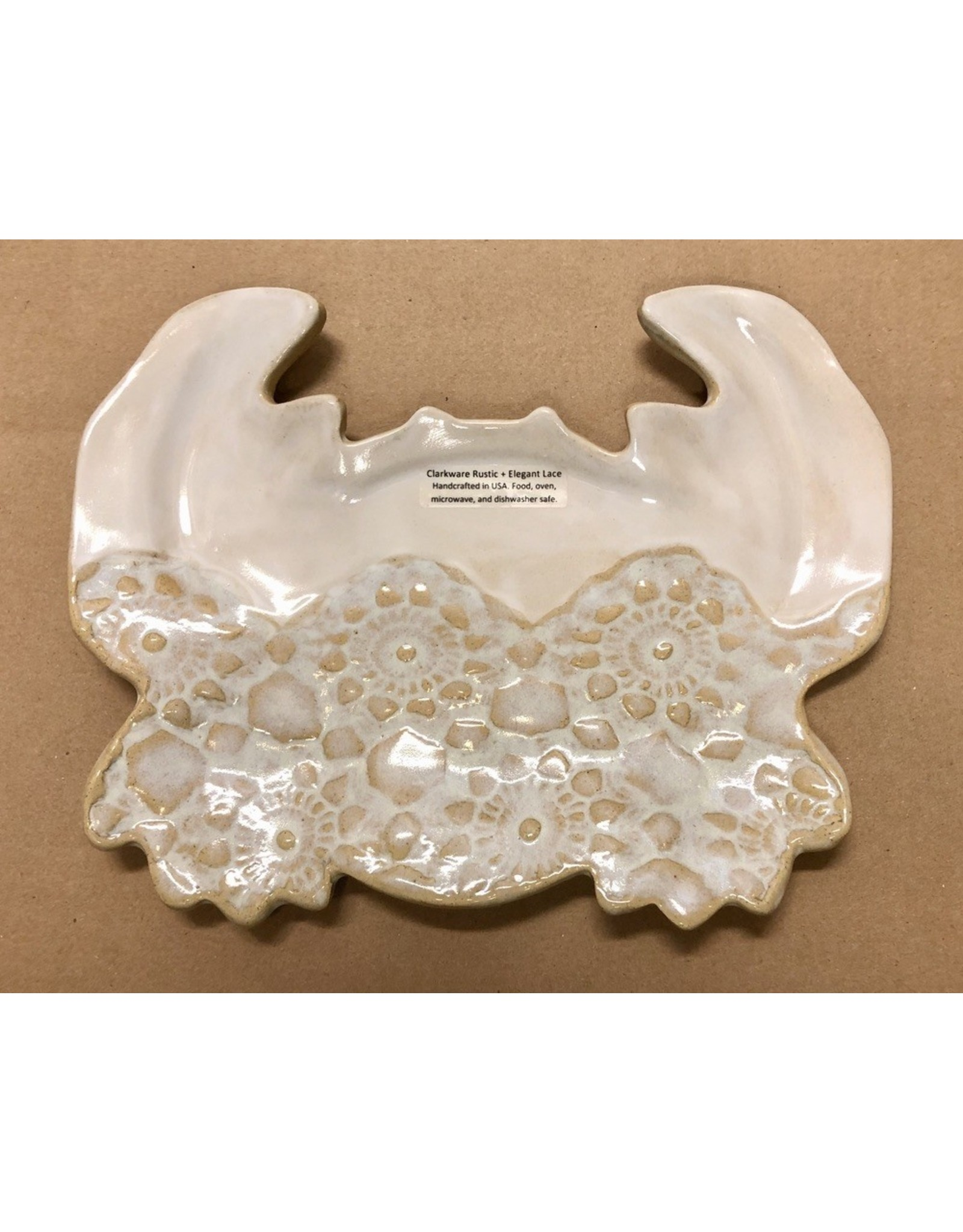 Clarkware Pottery CRAB TRAY