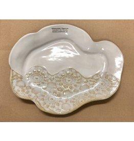 Clarkware Pottery TRAY (Oyster Shell)