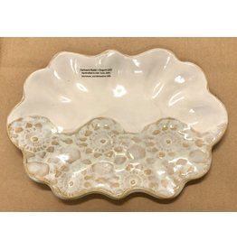 Clarkware Pottery TRAY (Scallop)