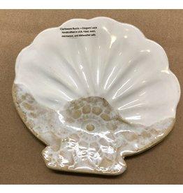 Clarkware Pottery SEA SHELL TRAY