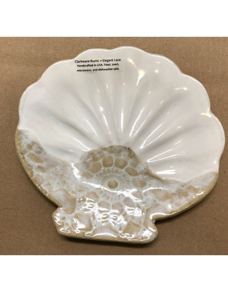Clarkware Pottery TRAY (Sea Shell)