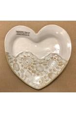 Clarkware Pottery HEART TRAY (Sm., CLARK)