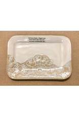 "Clarkware Pottery DISH, rectangle 6""  CLARK)"