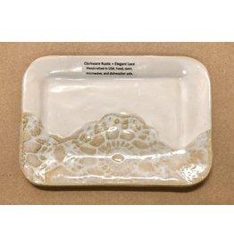 Clarkware Pottery TRAY (RECT., CLARK)