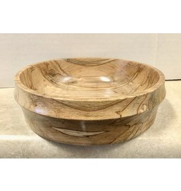"David L. Jones Bowl (Zebrawood, 7""D. x 2""H, DAVJ)"