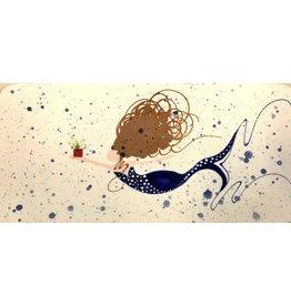 Sara Hunter Sushi Platter (12x6x1)