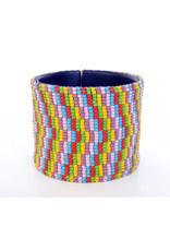 "Melange Bracelets Bracelets (Beaded Cuff, 2"")"