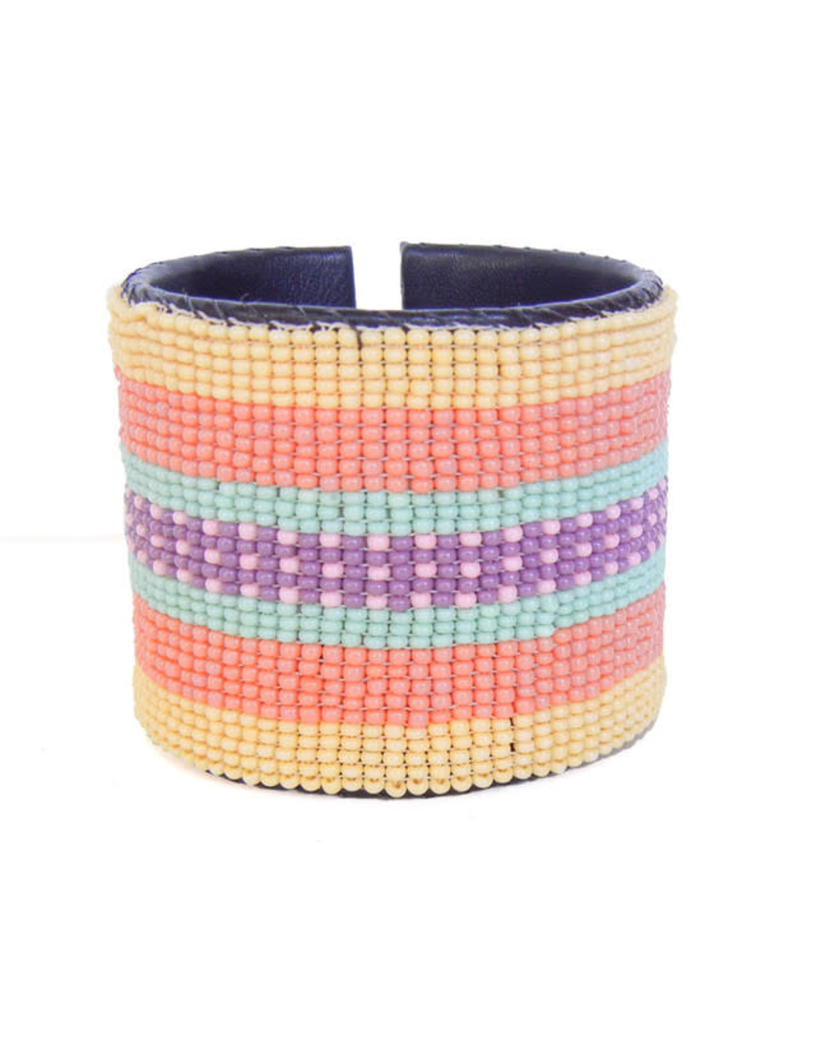 "Melange Bracelets Bracelets (Beaded Cuff, 2"" MELA)"