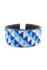 "Melange Bracelets Bracelets (Beaded Cuff, 1"", MELA)"