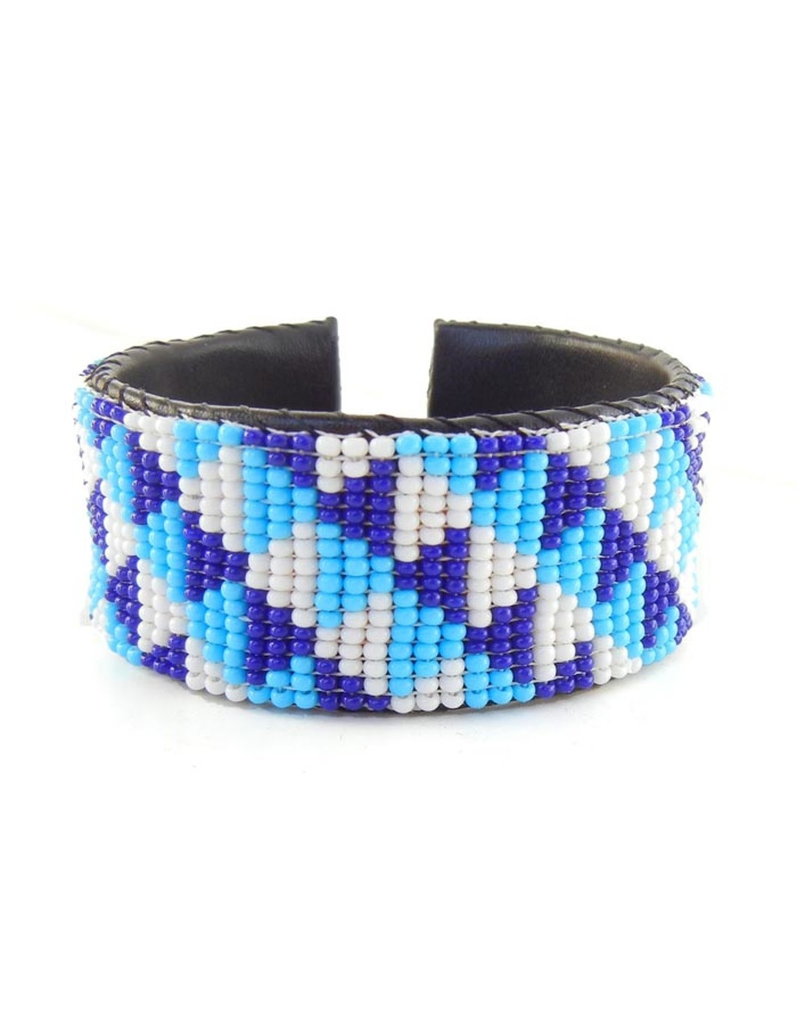 "Melange Bracelets Bracelets (Beaded Cuff, 1"")"