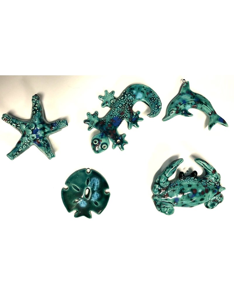HeARTS 4 Hospice SEA CRITTER COLLECTION (5 Pieces, Trudy Anderson, H4H 20026)