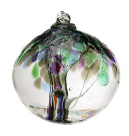 "Kitras Art Glass STRENGTH (Trees of Enchantment, 6"" D.)"