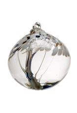 "Kitras Art Glass PEACE (Trees of Enchantment, 6"" D.)"