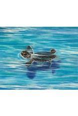 HeARTS 4 Hospice CONCH CRUISER / FIRST SWIM (Canvas & Print Giclees, Susan Roberts, H4H 20030)
