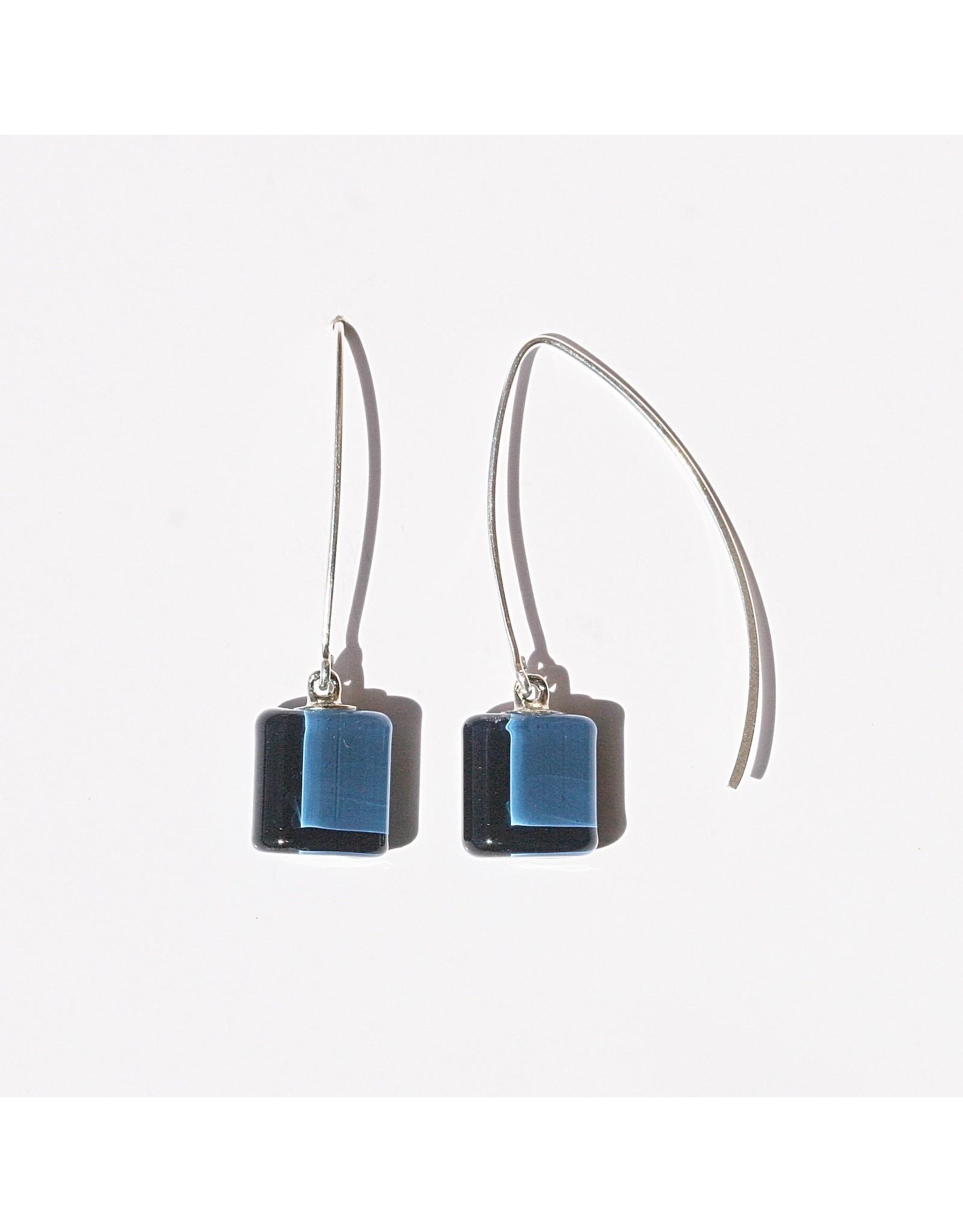 Perfecto Glass EARRING (Mini Square Dangle, PERF)