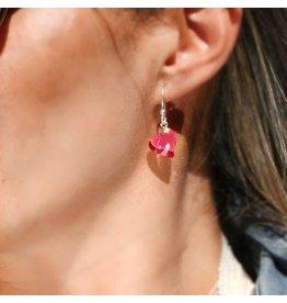 Perfecto Glass EARRING (Petite Heart)
