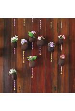 Zen Art & Design Coconut Flowers (Teaser, 49 Pieces, Artisanal Wooden Jigsaw Puzzle)