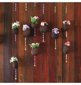 Zen Art & Design Coconut Flowers (Teaser, 49 Pieces, ZEN Wooden Jigsaw Puzzle)