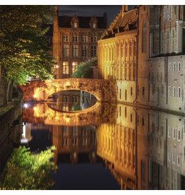 Zen Art & Design Canal in Bruges (Md, 204 Pieces,  ZEN Wooden Jigsaw Puzzle)