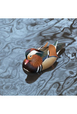 Zen Art & Design Mandarin Duck (Md, 204 Pieces, Artisanal Wooden Jigsaw Puzzle)