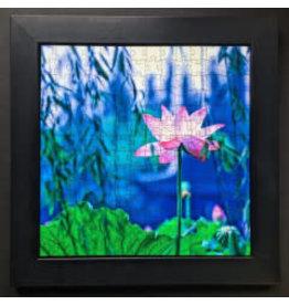 "Zen Art & Design DISPLAY TRAY, (LG. Black, ZEN Puzzles sold separately, 14"" x 14"")"