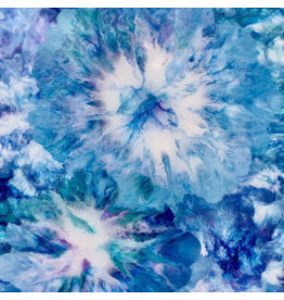 HeARTS 4 Hospice BURSTS OF BLUE (Fluid Acrylic, Sandra Stroot, H4H 20042)