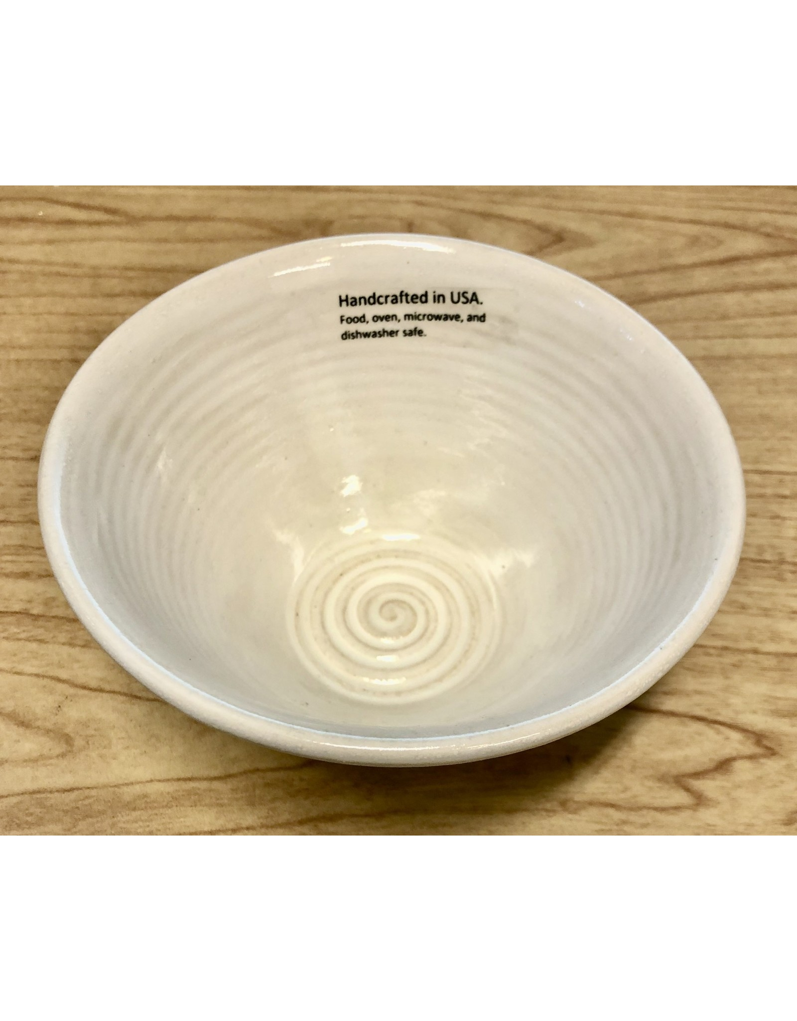 Clarkware Pottery SNACK BOWL